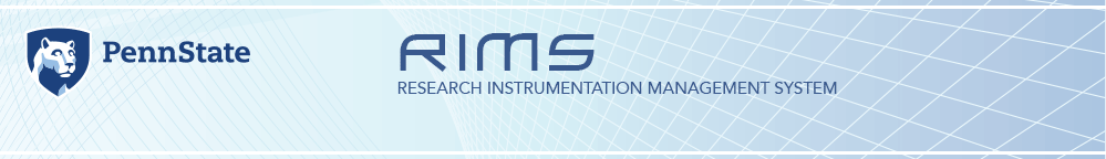 Research Instrumentation Management System Graphic Identity